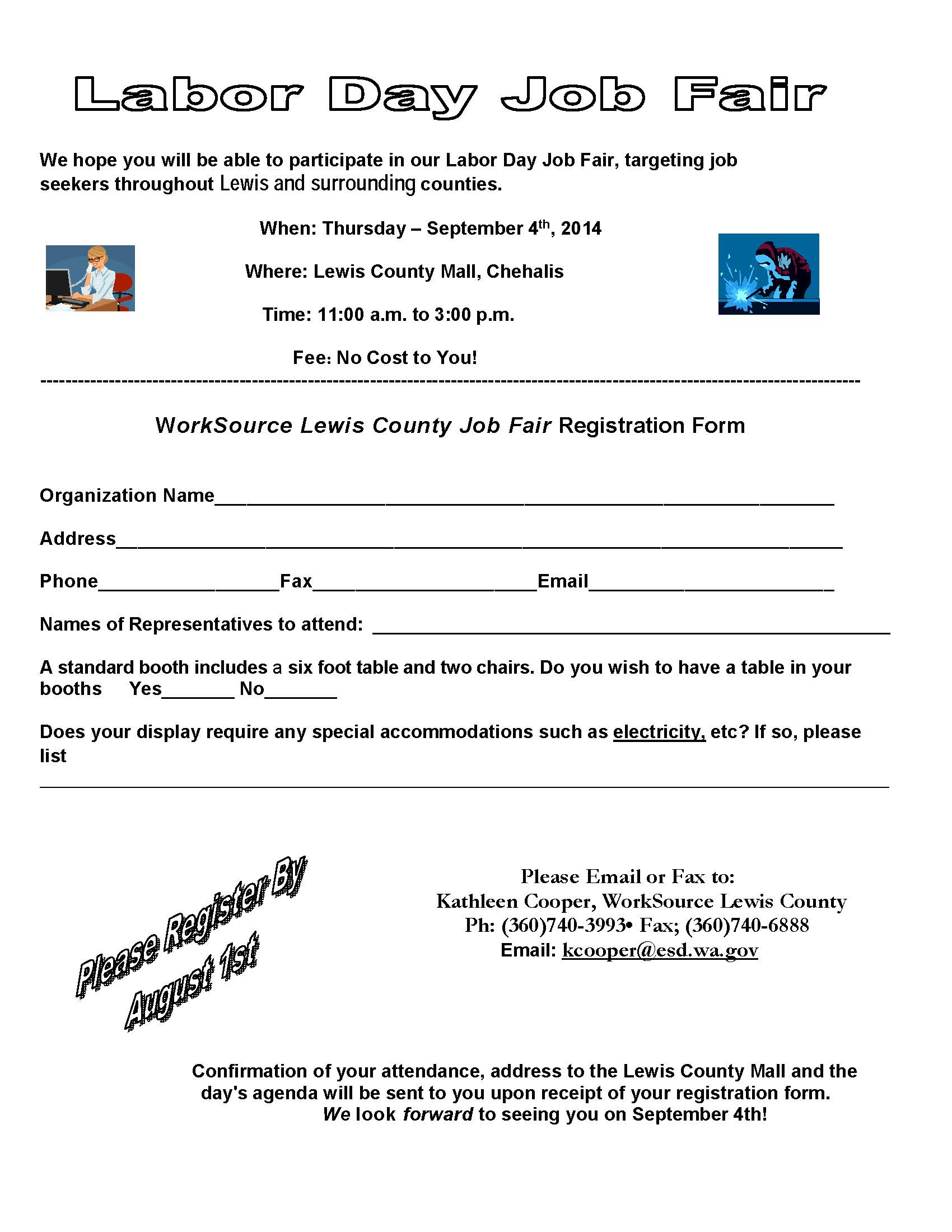 worksource lewis county job fair centralia chehalis chamber of job fair registration form labor day 2